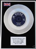 "BILLY FURY - 7"" Platinum Disc - ONCE UPON A DREAM"